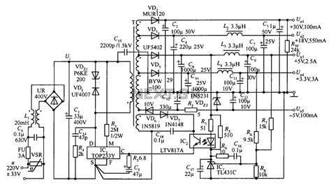 24 volt power supply schematic wiring diagrams wiring