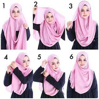 tutorial hijab pashmina instant instant shawl semi instant hijab tutorial pinless