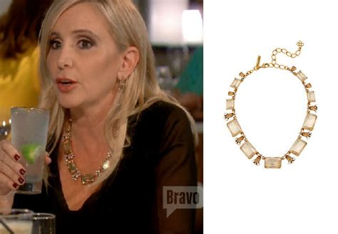 necklace worn by shannon beador on real housewives of orange county real housewives of orange county season 11 episode 11