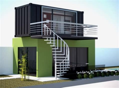 2 units 20ft luxury container homes design prefab modern design container home eco house 20ft 40 ft multi