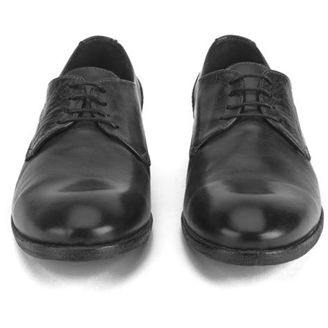 h by hudson s drum dye leather derby shoes in
