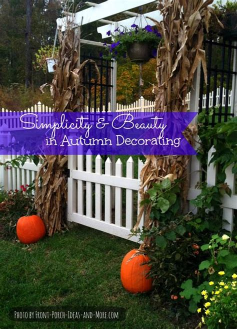 Autumn decorating ideas made easy