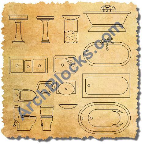 autocad plumbing fixtures block s cad plumbing symbols