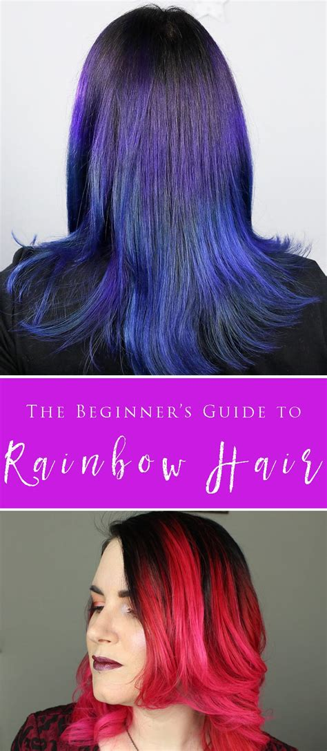 colored hair the beginner s guide to brightly colored hair cruelty free