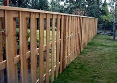 composite mixed material fence ideas for eichlers other mcm homes fence ideas horizontal and vertical slats neighborhood nursery exteriors fence