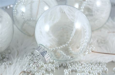 white ostrich feather ornament feather and pearl