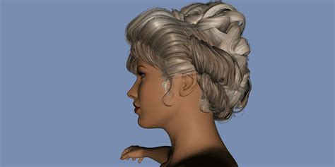 Gibson Hairstyle by Gibson Hairstyle Test Render Side By Gloveslover99 On