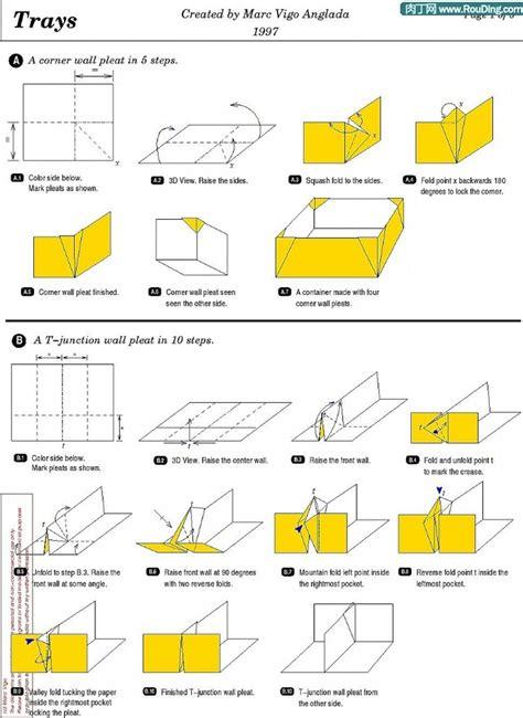 Origami Box Template - paper box origami box templates