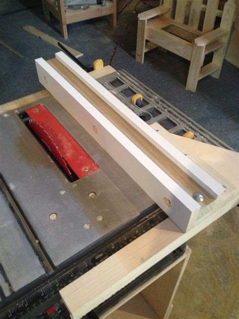 How To Make A Table Saw Fence by New Table Saw Rip Fence By Domeinc Lupo Lumberjocks