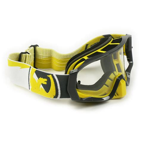motocross goggles ebay dragon new mx vendetta dirt bike incline yellow black