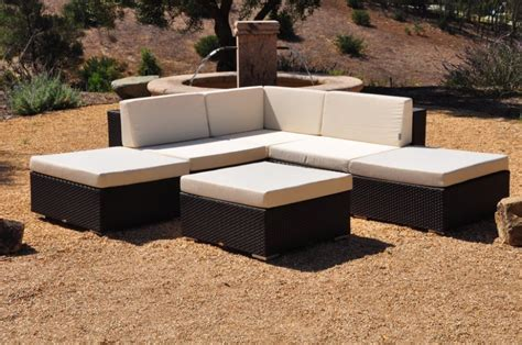 hot sale wicker patio furniture outdoor rattan sofa