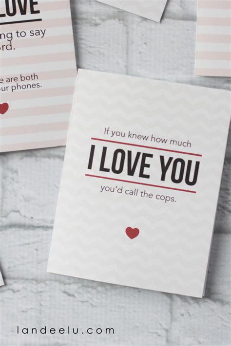 printable cards for husband printable s day cards landeelu