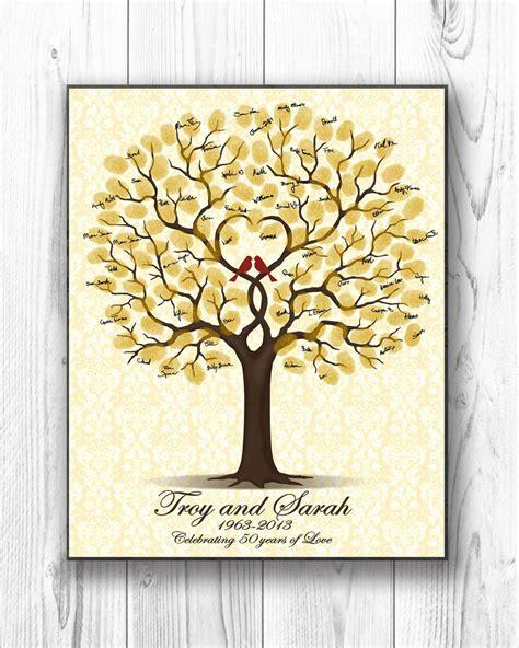 Wedding Anniversary Gift Order by 50th Wedding Anniversary Gift Personalized Golden Anniversary