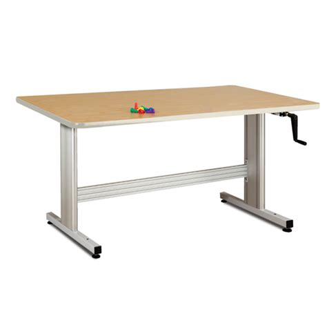 physical therapy tables therapy table with crank height adjustment2