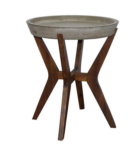Concrete Side Table Modrest Katsu Concrete Side Table