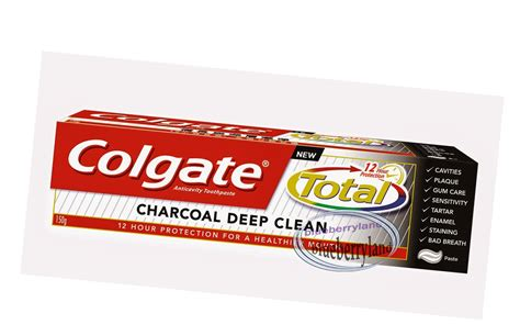 colgate total  charcoal deep clean fluoride toothpaste