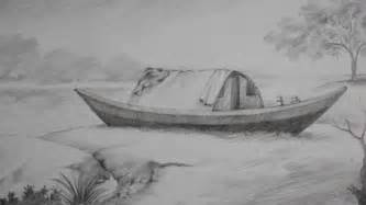 Landscape Pictures Drawing Landscape Drawing With Shading But Easy Drawing Of Sketch