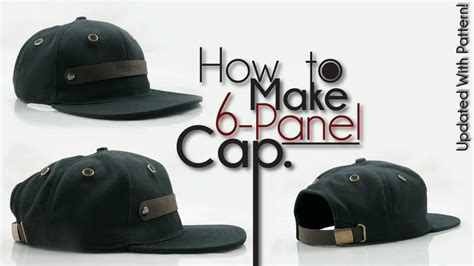 How To Make A Flat Cap Out Of Paper - how to make snapback baseball hat