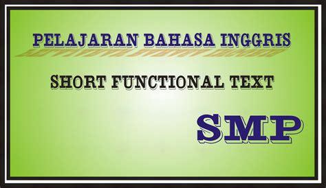 pelajaran bahasa inggris tentang biografi short functional text bimbingan belajar29