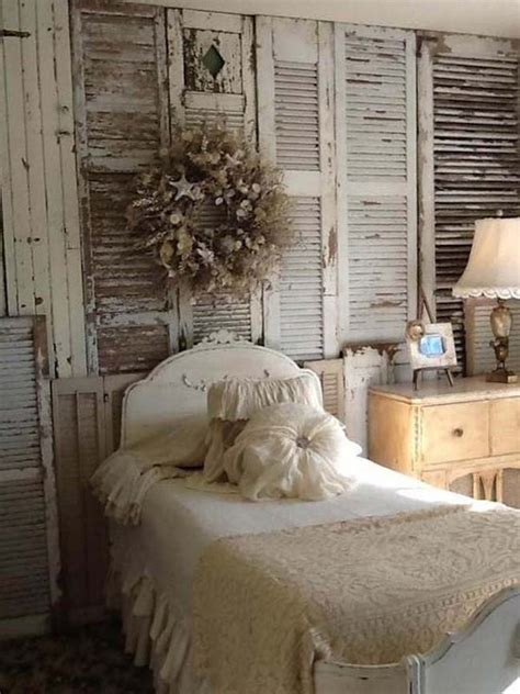 wall coverings for bedrooms 7 inspiring methods to use vintage shutters on your walls