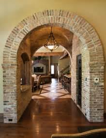 Home Interior Arch Designs Brick Arch Mediterranean Other Metro By Terry M Elston Builder
