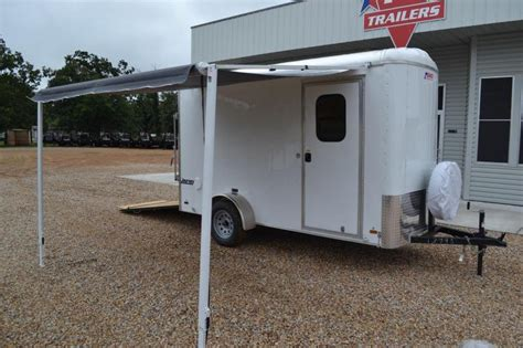 Enclosed Trailer Awning by Dallas Farm Equipment Animals Garden Items For Sale