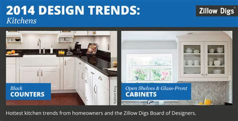 2014 kitchen design trends homeowners want black counters