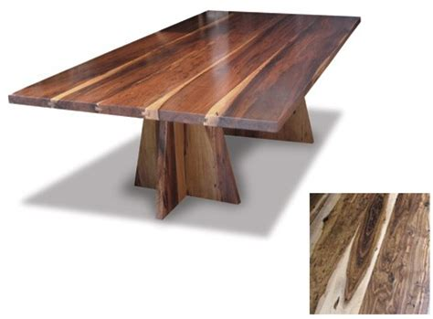 exotic wood dining tables  costantini design