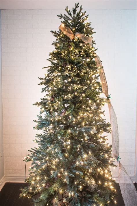 how to put garland on a tree how to put ribbon garland on a tree ehow
