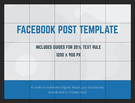 Facebook Post Template 2018 Free Facebook Post Template Download Post Template