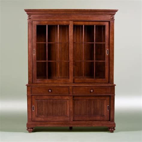 Ethan Allen Computer Armoire Classics Martin China Cabinet And Buffet Traditional Storage Cabinets By Ethan Allen