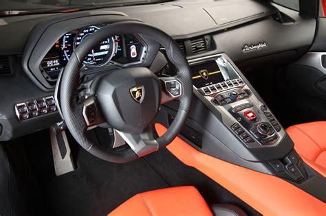 Inside Lamborghini Aventador Lamborghini Aventador Interior Black Fpatge Engine
