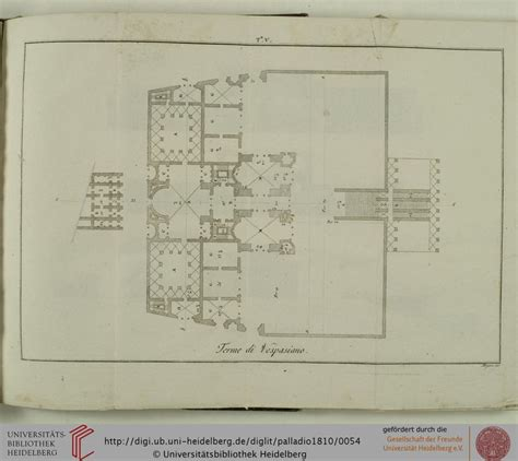 baths of caracalla floor plan floor plan of the baths of vespasian roma thermae