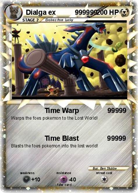 2 Dialga Ex Card pok 233 mon dialga ex 999999 999999 time warp 99999 my card