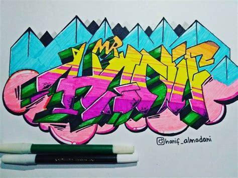 gambar grafiti nama keren