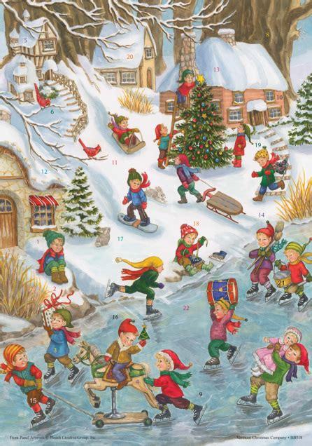 Wonderfully Whimsical Calendars by Wonderful Winter Advent Calendar W Env Medium