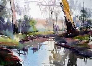 Watercolour Landscape Artists Uk Of Watercolor David