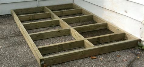 Simple Shed Foundation by Backyard Shed