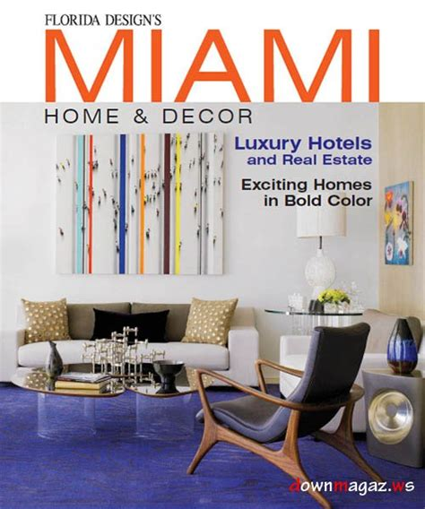 home decor magazine pdf miami home decor vol 8 no 2 187 download pdf magazines