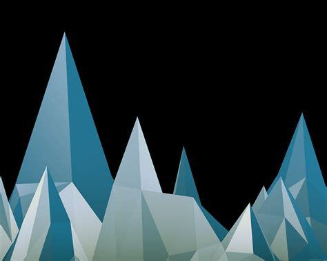 pattern triangle blue 1440 x 900