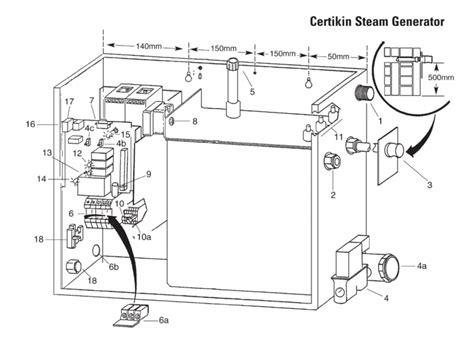 steam table repair parts certikin spare parts for certikin steam generator