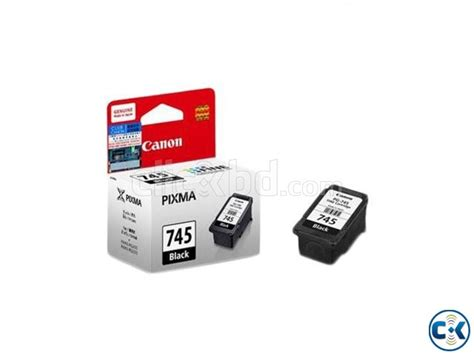 Tinta Canon Cartridge Pg 745 Tinta Black Original Dealer Resmi Can canon pg 745 ink cartridge black clickbd