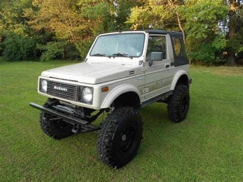 1988 Samurai Suzuki Sell Used 1988 Suzuki Samurai In Johnsonburg Pennsylvania