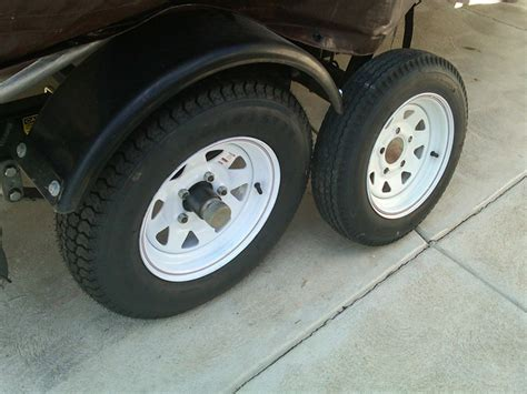size of boat trailer wheels loadstar st175 80d13 bias trailer tire with 13 quot white
