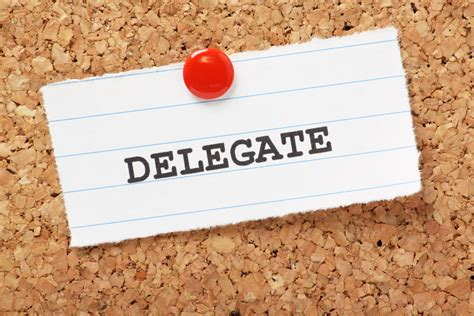 How To Be A Delegate how to yourself to delegate in 7 easy steps tweak