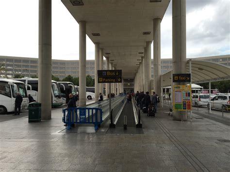 miet wagen nach der mietwagen abgabe zum terminal