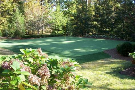 installing a putting green in your backyard what to consider when installing a backyard putting green