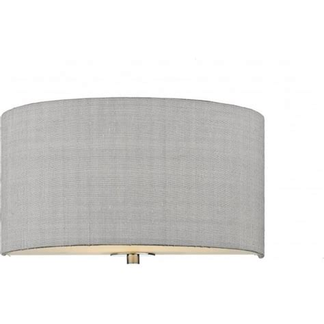 Silver Grey L Shades Uk by Fabric Shade Wall Light Wall Uplighter With Silver Grey