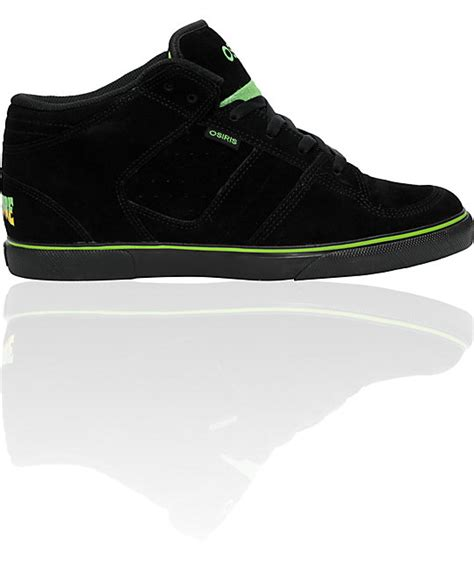 chion black sneakers osiris x creature chino mid black shoes zumiez