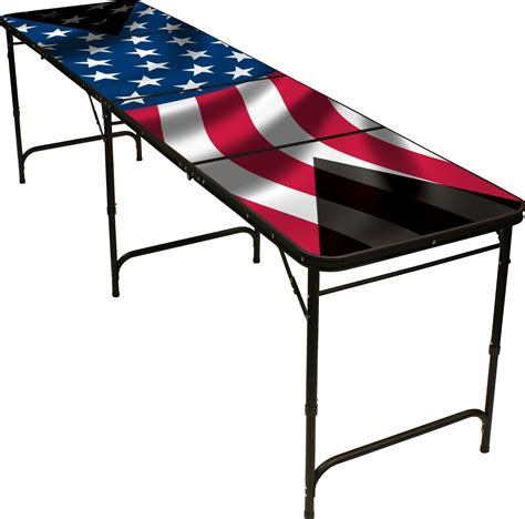 american flag pong table 8ft from things i